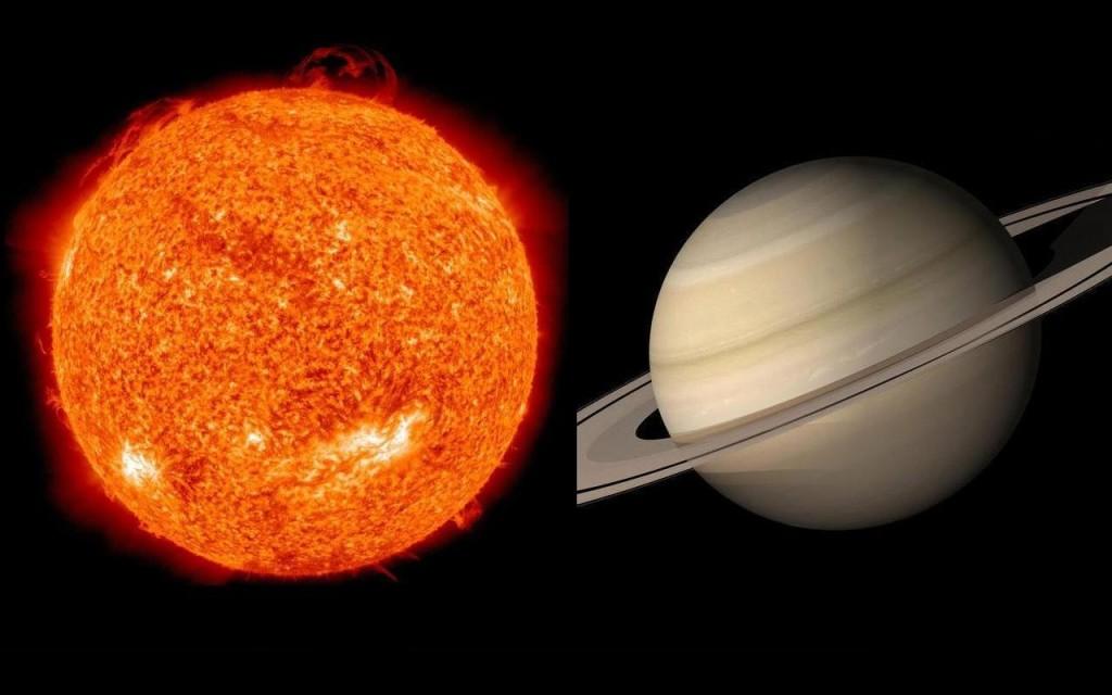 Sun & Saturn