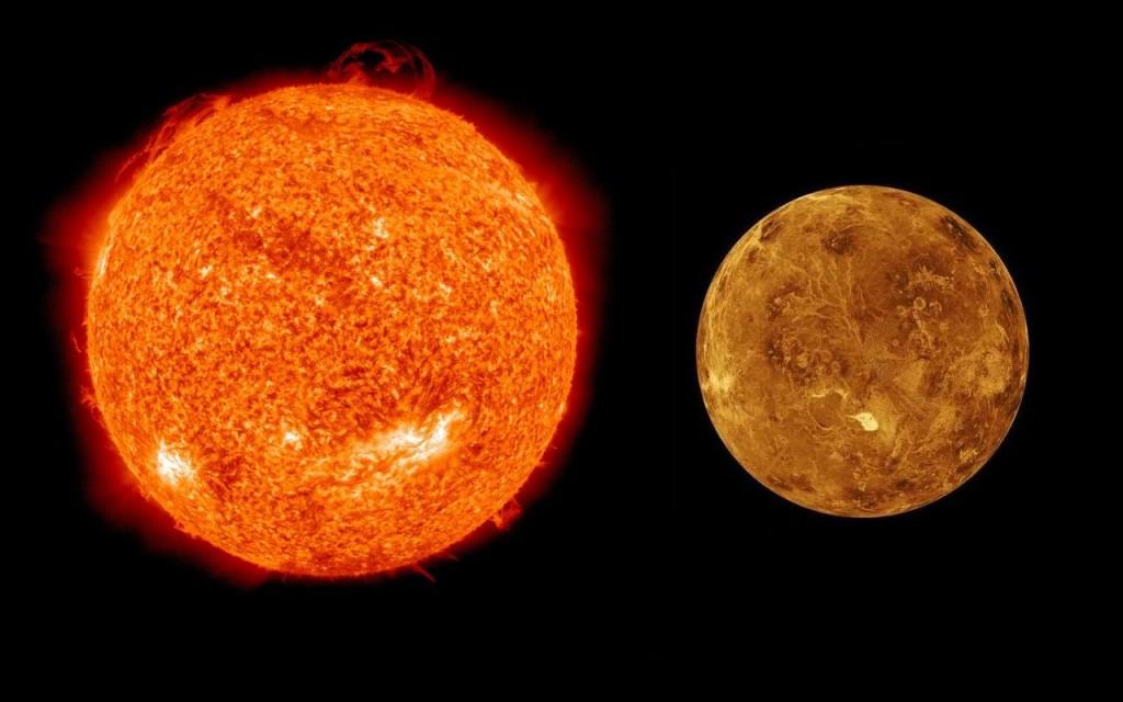 Sun & venus