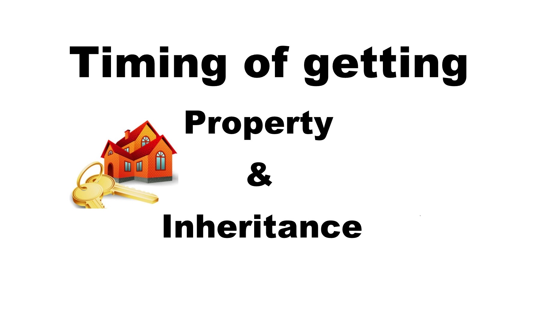 Timing of getting Property & Inheritance